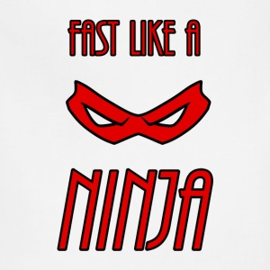 Fast_Ninja_Red - Adjustable Apron