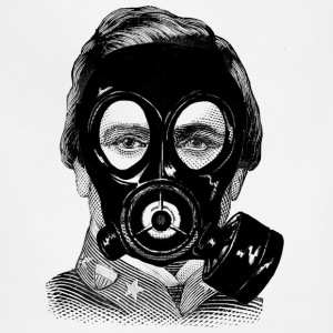 Gas mask Man - Adjustable Apron