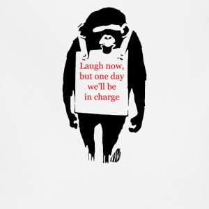 Laugh Now Monkey Sandwich - Adjustable Apron