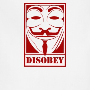 Disobey Anonymous - Adjustable Apron