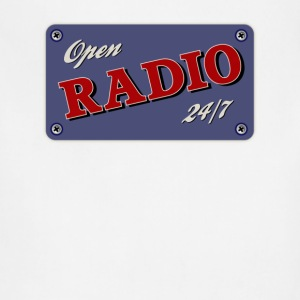 Open Radio 24/7 - Adjustable Apron
