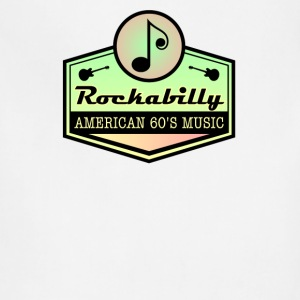 American Rockabilly 60' Music - Adjustable Apron