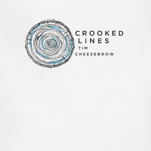 Crooked Lines Album Cover Art - Adjustable Apron