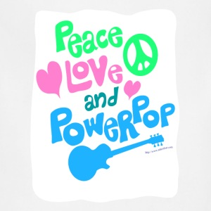 Peace Love and Powerpop - Adjustable Apron