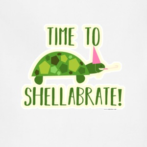 Time to Shellabrate Party Turtle - Adjustable Apron