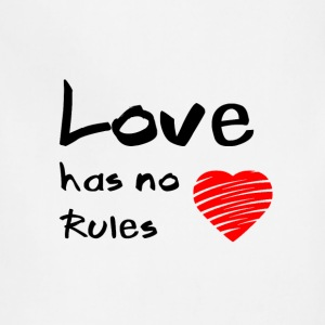 Love has no rules - Adjustable Apron