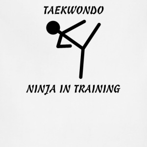 Taekwondo Ninja in Training - Adjustable Apron