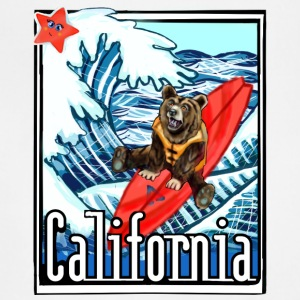 California Flag On Vacation - Adjustable Apron