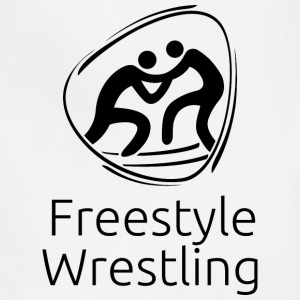 Freestyle_wrestling_black - Adjustable Apron