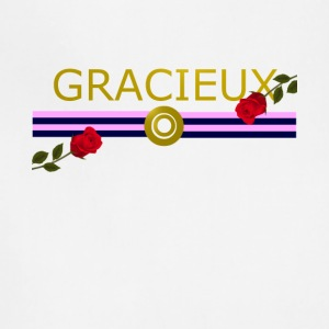 Gracieux / Graceful Fashion design - Adjustable Apron