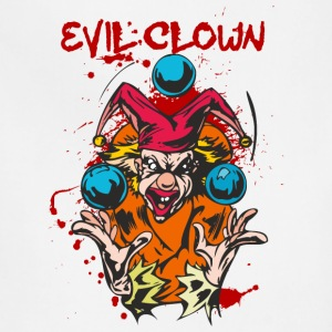 EVIL_CLOWN_9_bloody - Adjustable Apron