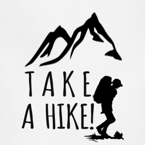 take a hike black - Adjustable Apron