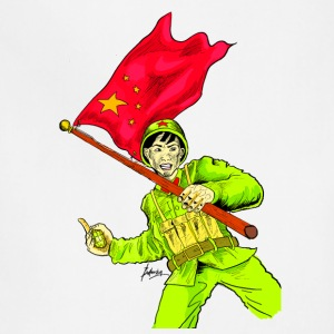 Chinese Soldier With Grenade - Adjustable Apron