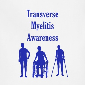 Transverse Myelitis Awareness - Blue - Adjustable Apron