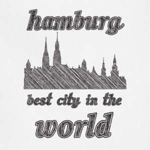HAMBURG Best city in the world - Adjustable Apron