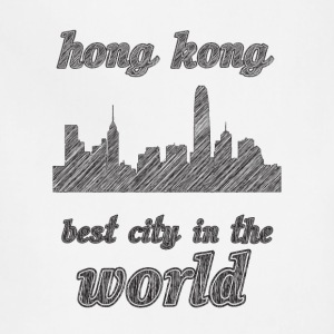 honG kong Best city in the world - Adjustable Apron