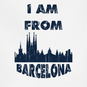 Barcelona I am from - Adjustable Apron