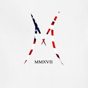 Official MAXIX MMXVII Brand Logo w American Flag - Adjustable Apron