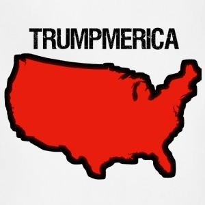 Bold Red United States with 'Trumpmerica' - Adjustable Apron
