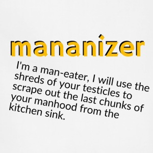 Mananizer - Adjustable Apron