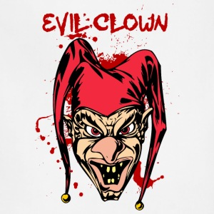 EVIL_CLOWN_6_bloody - Adjustable Apron