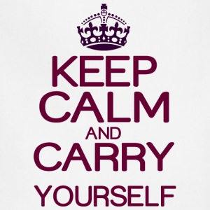 Keep calm and do it yourself - Adjustable Apron