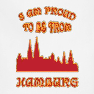 HAMBURG I am proud to be from - Adjustable Apron