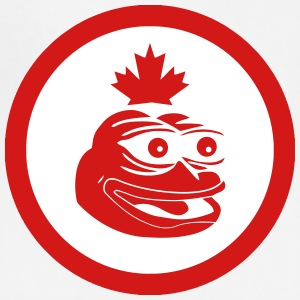 Canadian Pepe the Frog Flag - Adjustable Apron