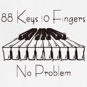 88keys 10fingers - Adjustable Apron