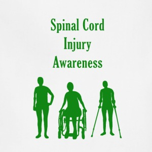Spinal Cord Injury Awareness - Green - Adjustable Apron