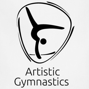 Artistic_gymnastics_black - Adjustable Apron