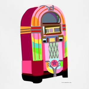Fun Neon Jukebox - Adjustable Apron
