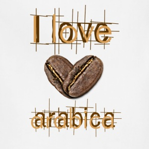 I love Arabica - Adjustable Apron