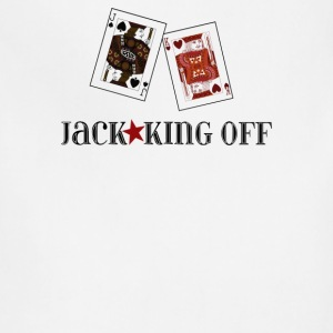 Jack King Off Poker - Adjustable Apron