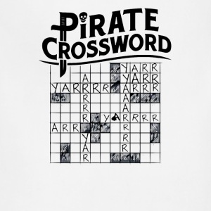 Pirate crossword - Adjustable Apron