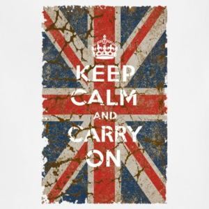 UK Flag and Keep Calm Hybrid - Adjustable Apron