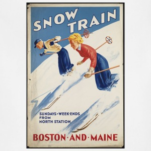 Snow Train Boston and Maine - Adjustable Apron