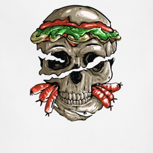 skull burger Cyber System - Adjustable Apron