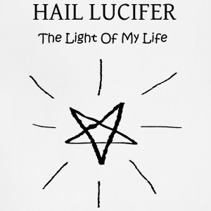 Hail Lucifer, The Light of My Life - Adjustable Apron