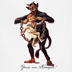 Gruss vom (Greetings From) Krampus - Adjustable Apron