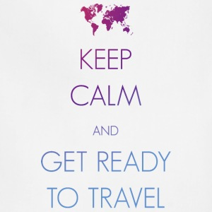 Keep calm and get ready to travel - Adjustable Apron