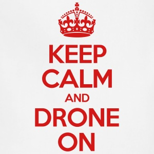 Keep calm and drone on - Adjustable Apron