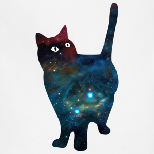 galaxy_fat_cat - Adjustable Apron