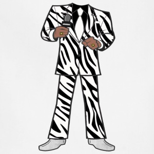 The Zebra Suit - Adjustable Apron