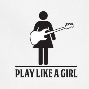 Play like a Girl - Bass - Adjustable Apron
