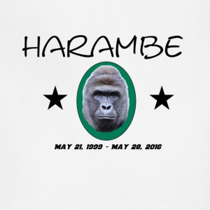 Rip Harambe Emblem - Adjustable Apron