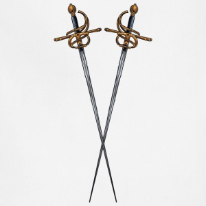 cross sword - Adjustable Apron