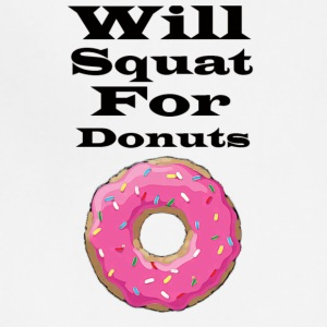 Will squat for donuts - Adjustable Apron