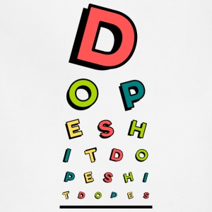 Dope Eye Chart - Adjustable Apron