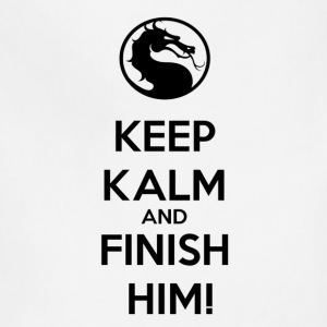 Keep kalm and finish him tshirt - Adjustable Apron